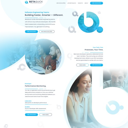Homepage for BetaQuick