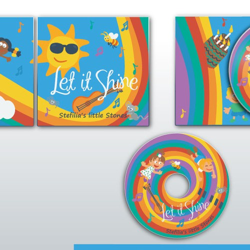 Fun Cover for a children's CD