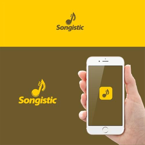 Logo for a musical app