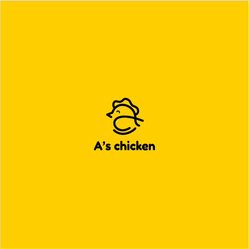 Simple logo for Food Company