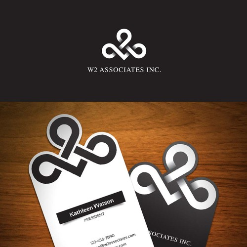 New logo and business card wanted for W2 Associates Inc.