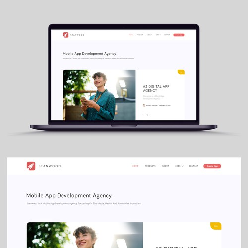 NEW CMS WEBSITE FOR MOBILE APP DEVELOPMENT AGENCY