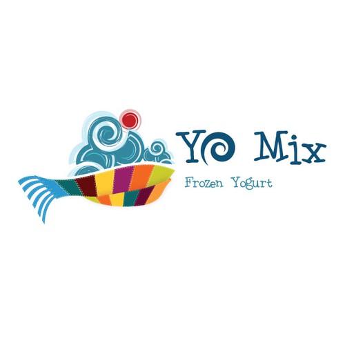 Frozen Yogurt Logo