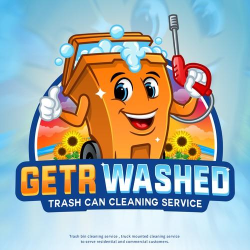 Logo/Mascot GETR Washed