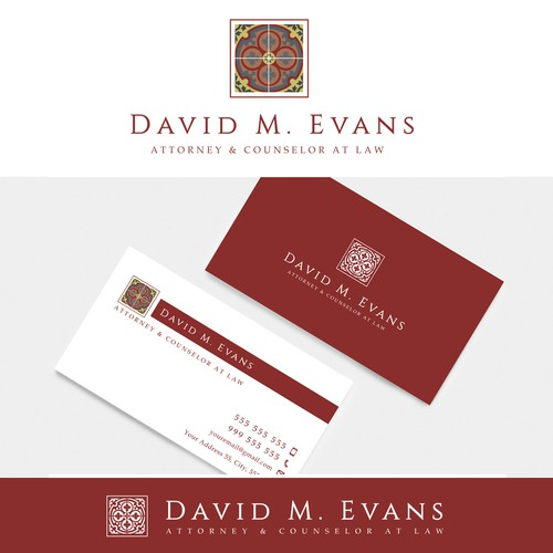 Logo and a business card design