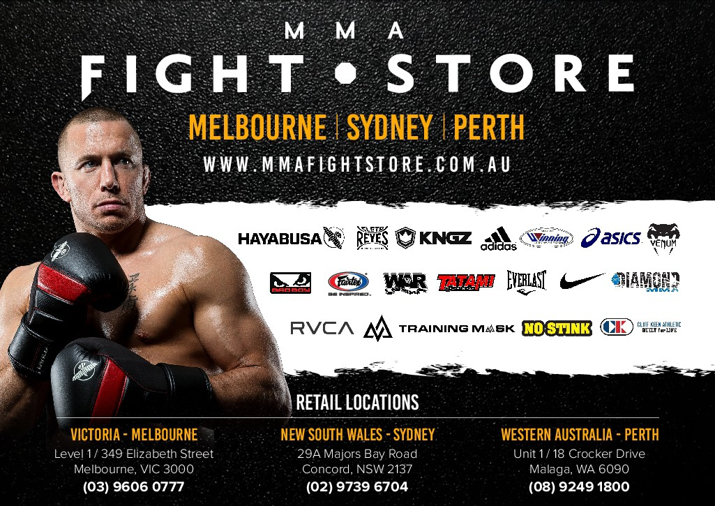 MMA Fight Store Flyers
