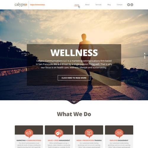 Calypso Website Design