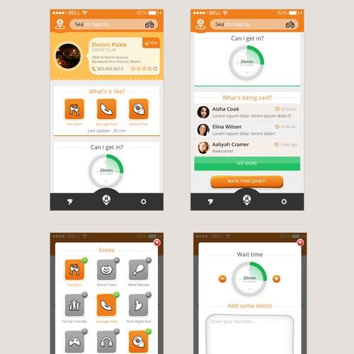 hanghere app design
