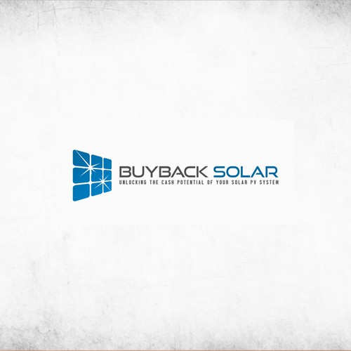 Logo concept for Buyback Solar UK