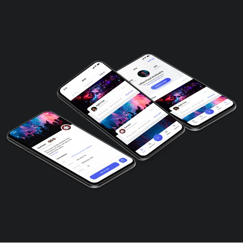 WYD iOS App Design and branding