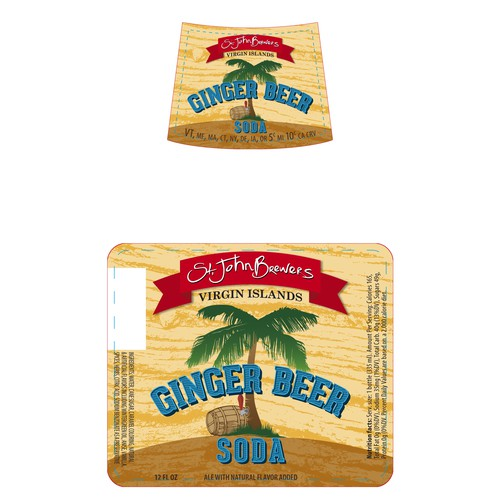 Help St. John Brewers design their Ginger Beer Label