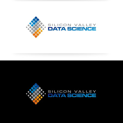 Create the next logo and business card for Silicon Valley Data Science