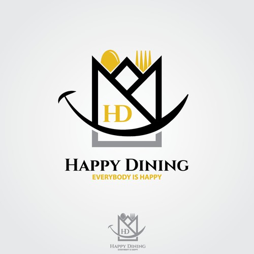 """Create a """"smart"""" logo for a startup in the restaurant booking business"""