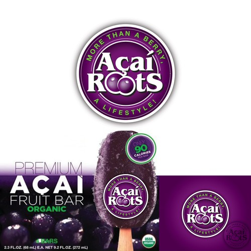 logo for Acai Roots