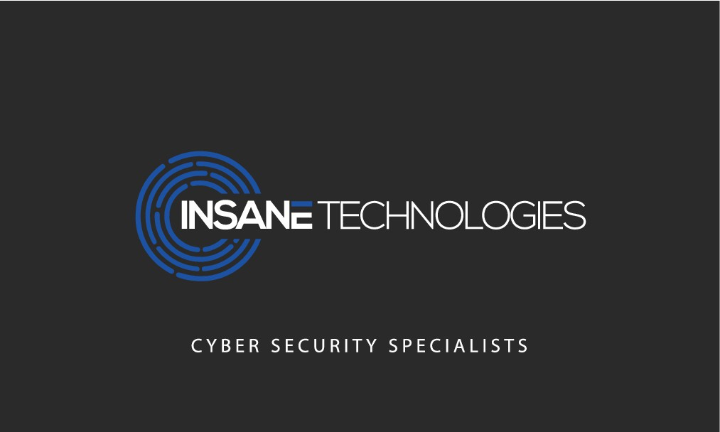 Business card for cyber security company