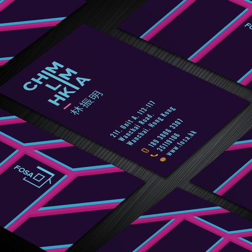 Business Card for fosa