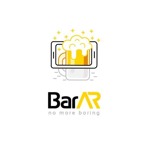 Illustration Logo for Bar AR