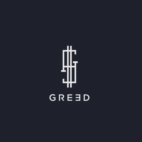 logo concept for greed