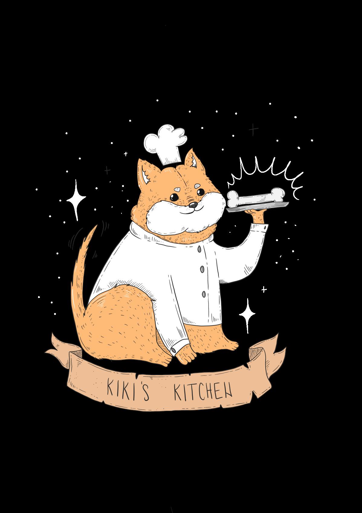Shiba Inu Drawing - Logo + T-Shirt Design