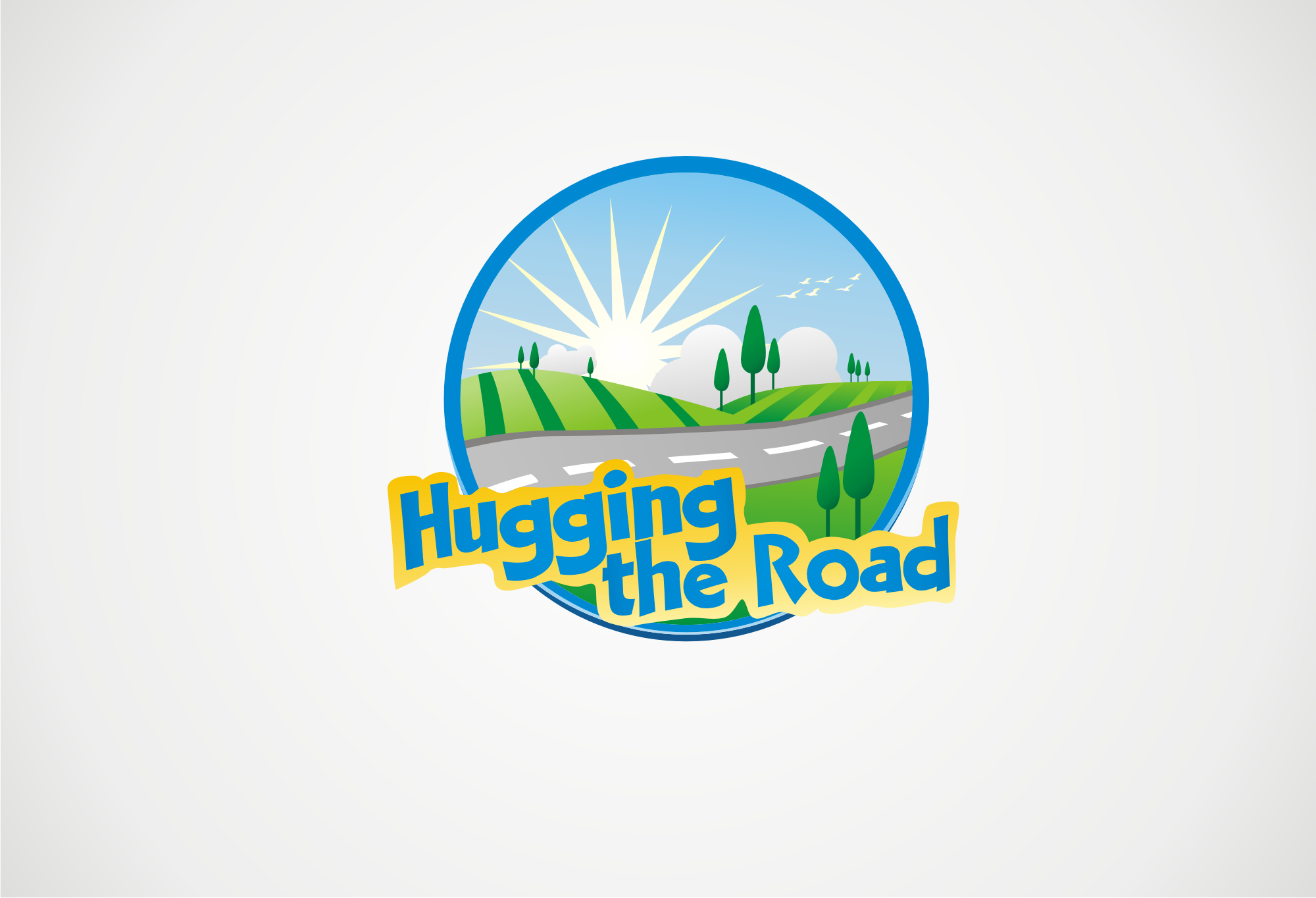 logo for Hugging the Road