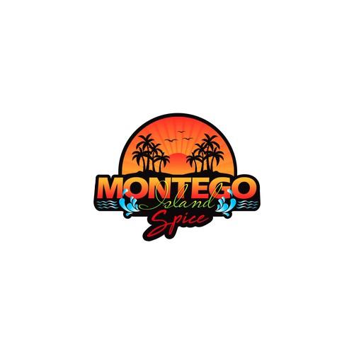 Bold logo concept for Montego Island Spice