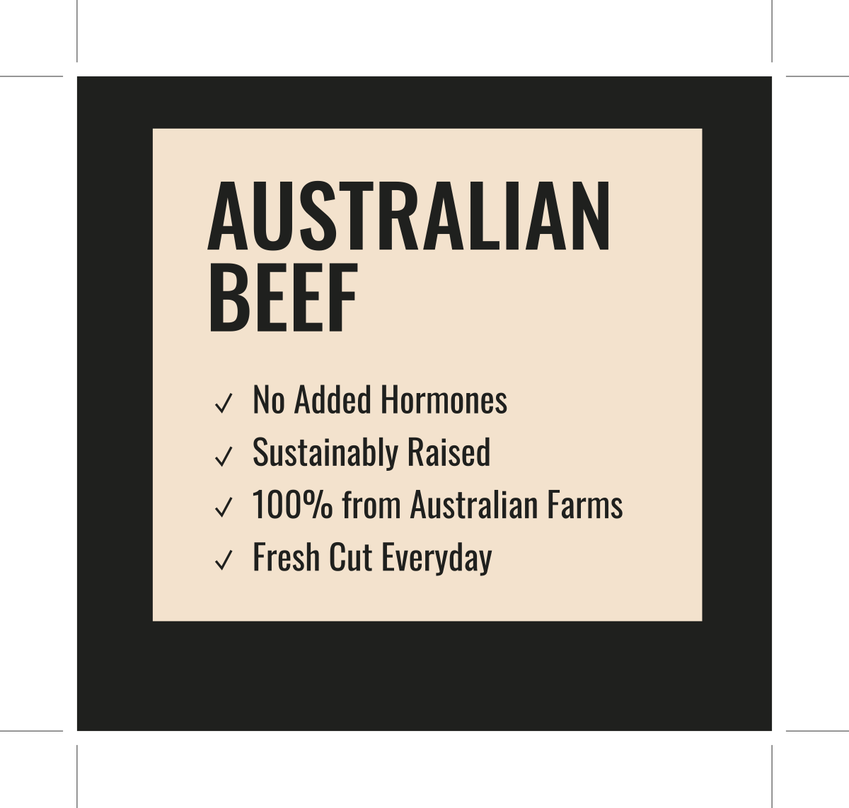 Sticker for Beef