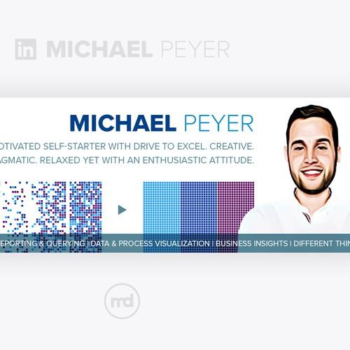 LinkedIn Background Image Design