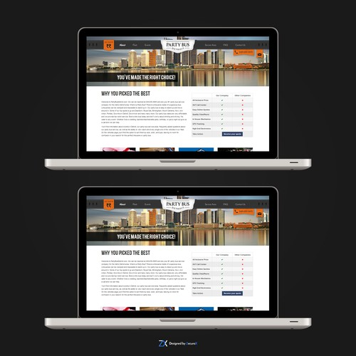 Header Design For Website
