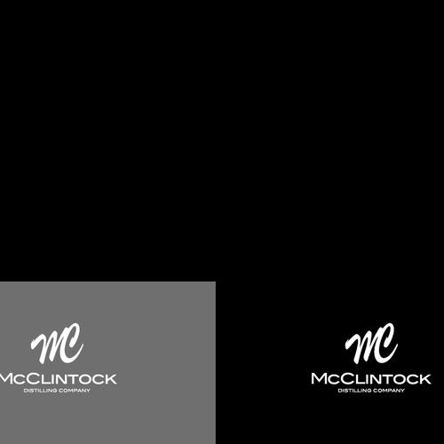 Create a Logo for an McClintock Distilling Company (Whiskey, Vodka,Rum, Gin)