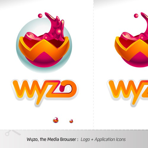 Wyzo Web Browser - Winning Logo