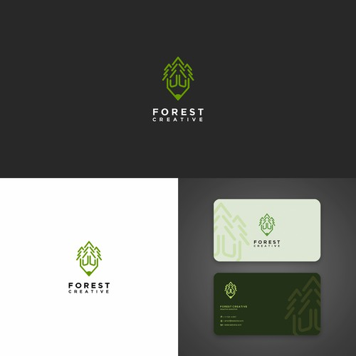 Forest Creative The logo Creative media solutions
