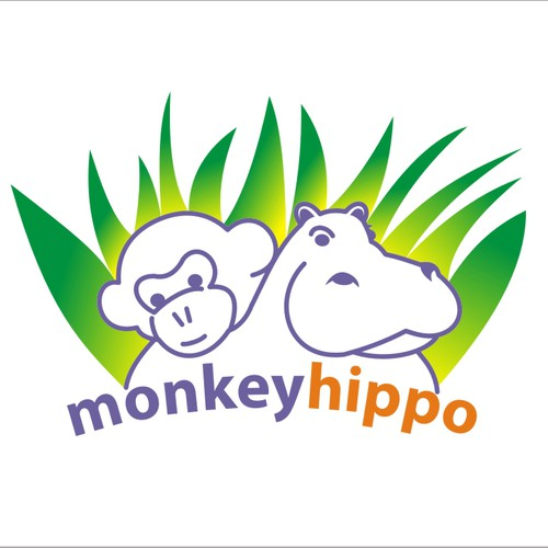 Iconic Logo Needed for Monkey Hippo