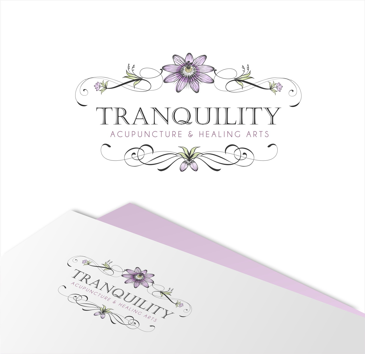 Unique, stunning design for Tranquility Acupuncture & Healing Arts