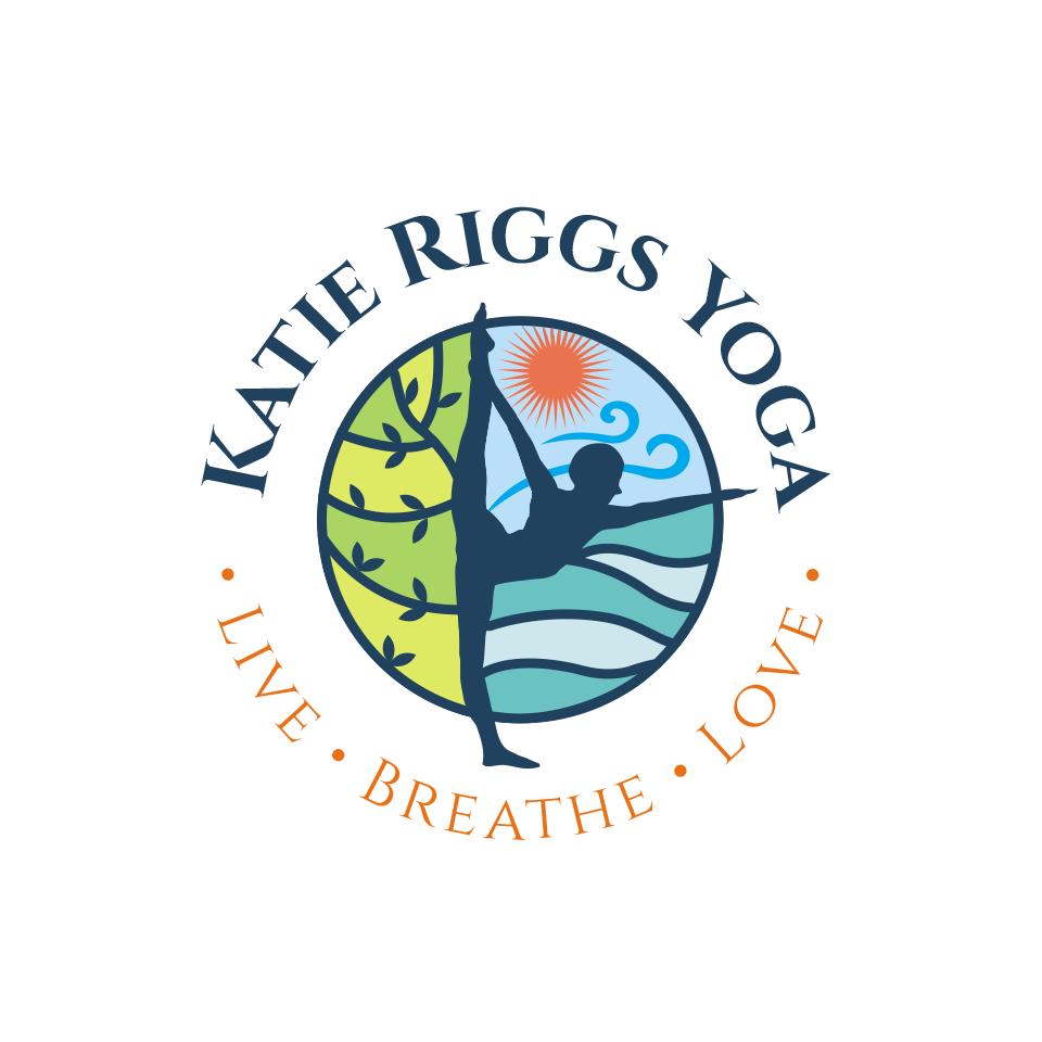 Create a catchy logo for a powerful new yoga teacher