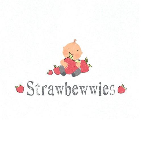 Modern logo concept for a baby cloth brand