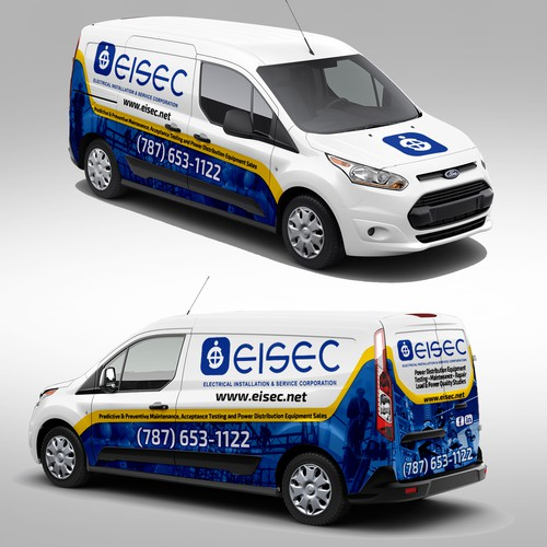 Wrap Design for Ford Transit Connect