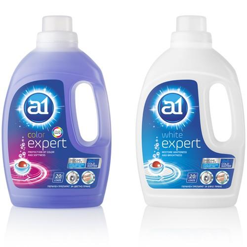 A1 Expert Laundry gel