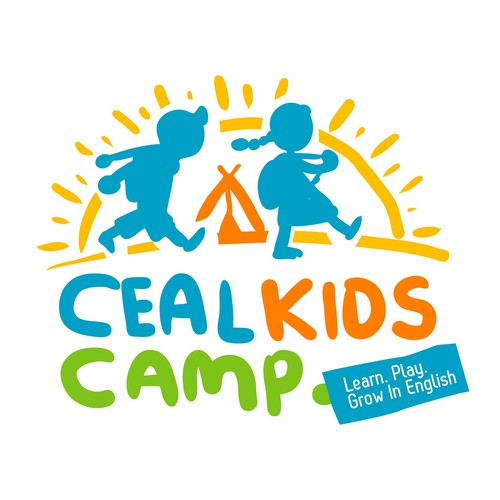 Free hand logo for Ceal Kids Camp
