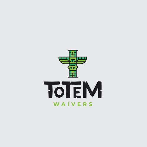 Logo concept for Totem Waivers