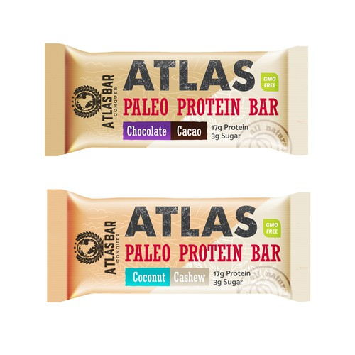 Eye-catching Packaging For Protein Bar
