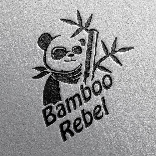 cool logo for Bamboo Rebel
