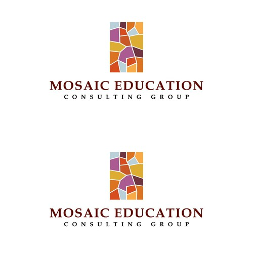 Winning logo concept for Mosaic Education