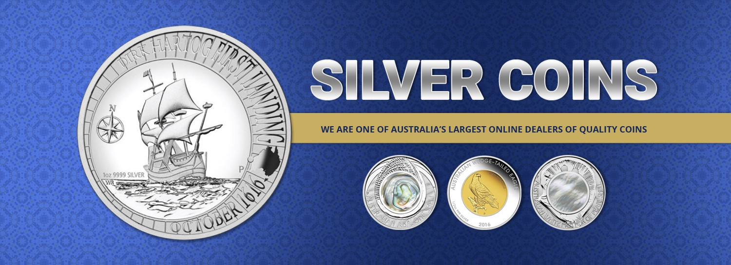 Home page banner for Australian Decimal coins.