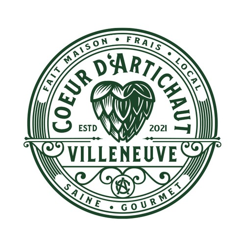 Coeur d'Artichaut Villeneuve