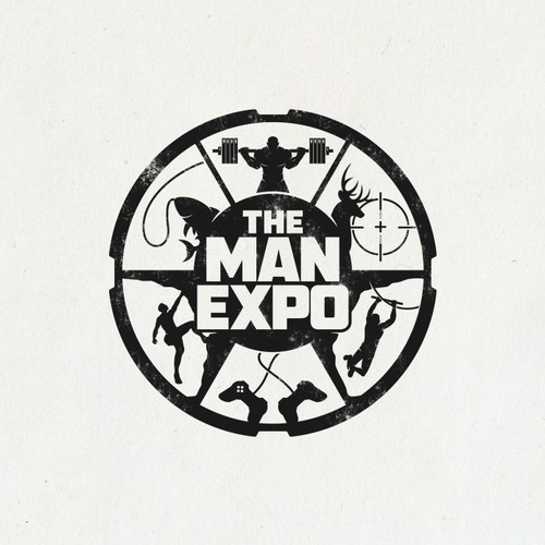 Design a MAN logo for a MAN expo!