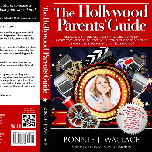 Create the cover for The Hollywood Parents Guide