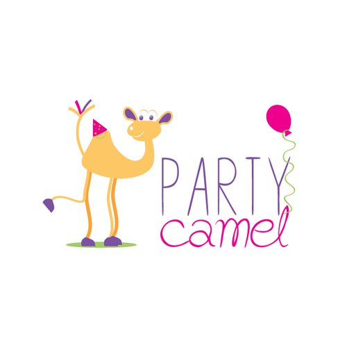 Funky online childrens partyware store based in Dubai needs a new logo