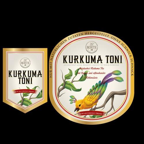 Kurkuma Tonic drink