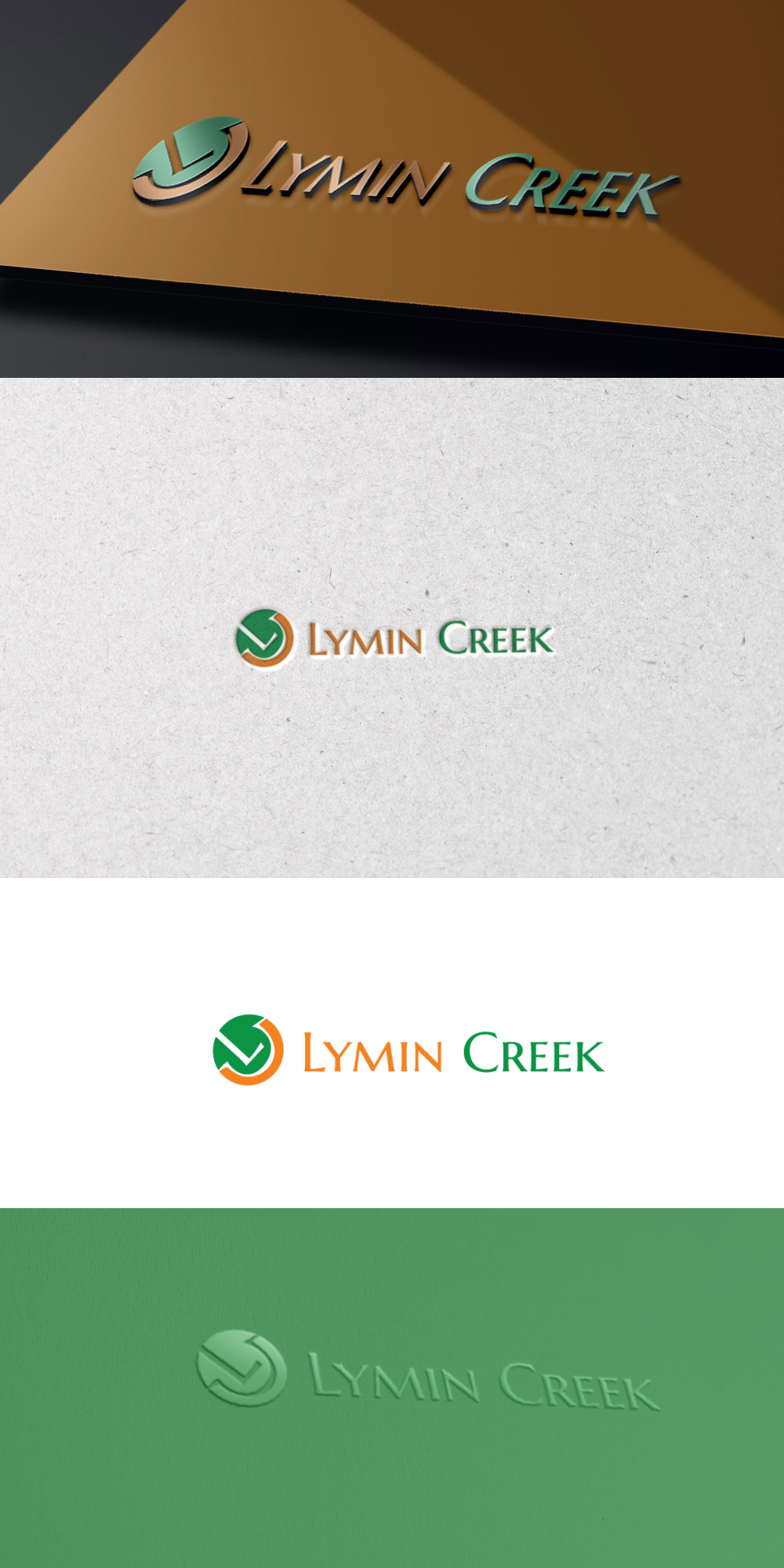 Modern, evocative logo for holding company Lymin Creek