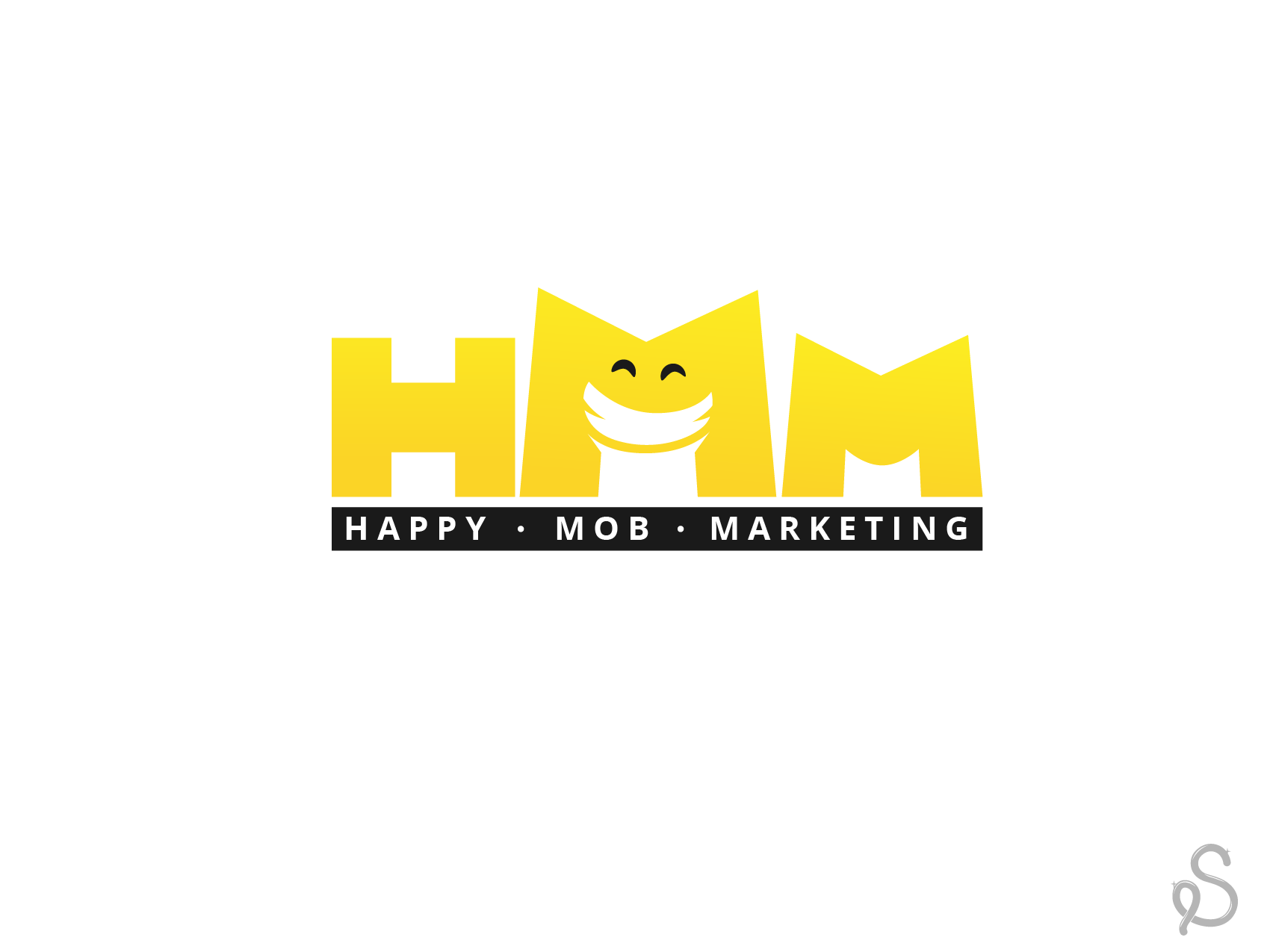 Happy Mob Marketing needs a new logo